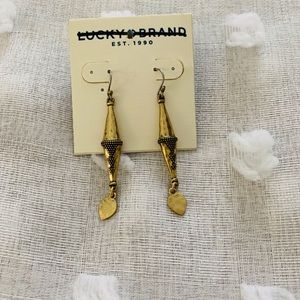 Lucky Brand hanging earrings NWT